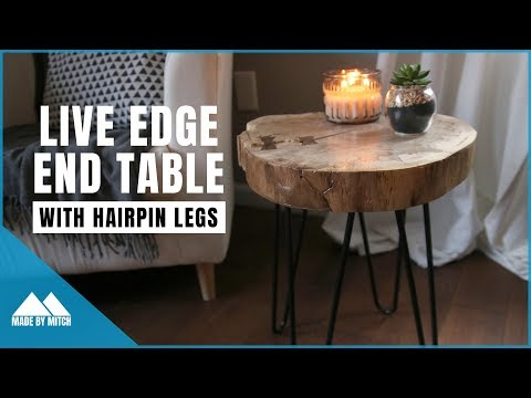 How to Make a Live Edge End Table