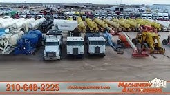 Machinery Auctioneers of Texas | Buy/Sell Trucks, Trailers, Construction Equipment | San Antonio, TX