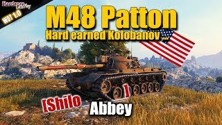 WoT: M48A5 Patton, Alone but not helpless, Abbey, Kolobanov, WORLD OF TANKS