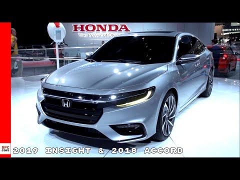 2019 Honda Insight Prototype & 2018 Accord Overview