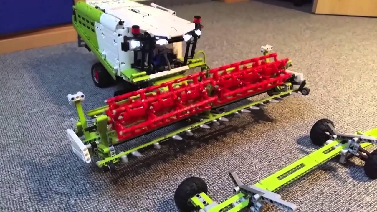 lego technic mähdrescher