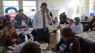 Barack Makes Calls in Missouri
