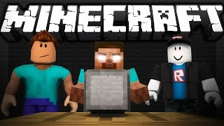 If Herobrine played Roblox - Minecraft
