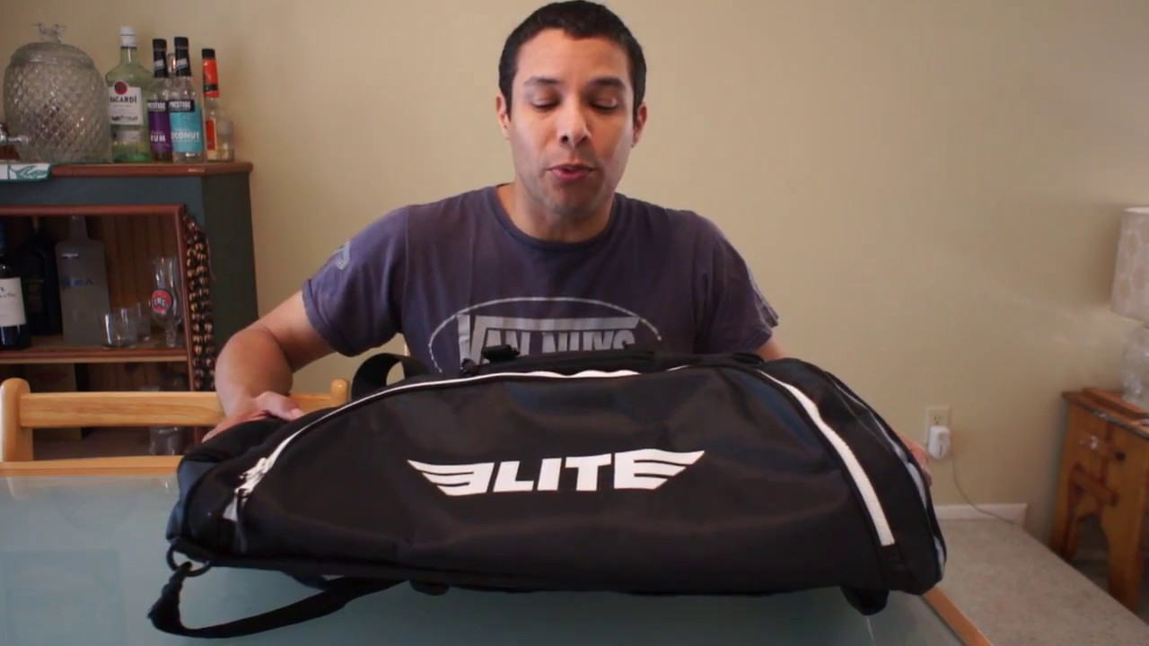 fb5d3bc70e60 Elite Sports Warrior Series Duffel Bag Review - YouTube
