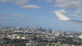 Aterrizando en Sydney/Landing at Syndey