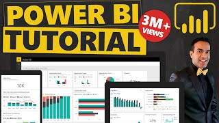 Power BI Tutorial From Beginner to Pro ⚡ Desktop to Dashboard in 60 Minutes ⏰