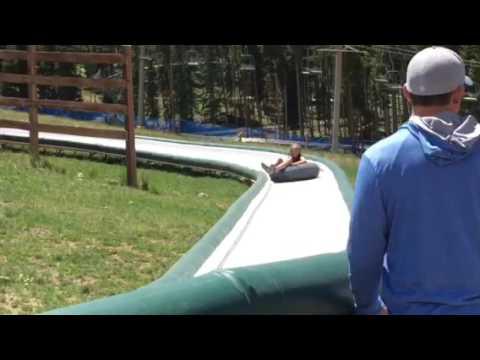 Breckenridge 2016: Peak 8. Ellie Tube Ride