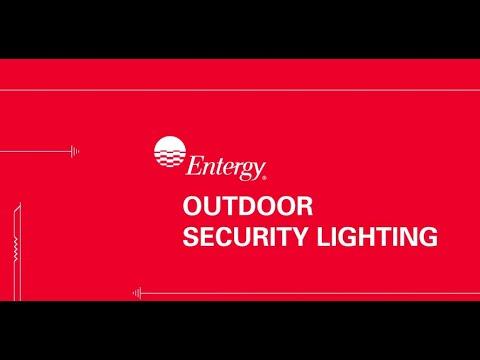 entergy outdoor lighting