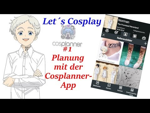Let´s Cosplay [#1] - Planung mit der cosplanner-App