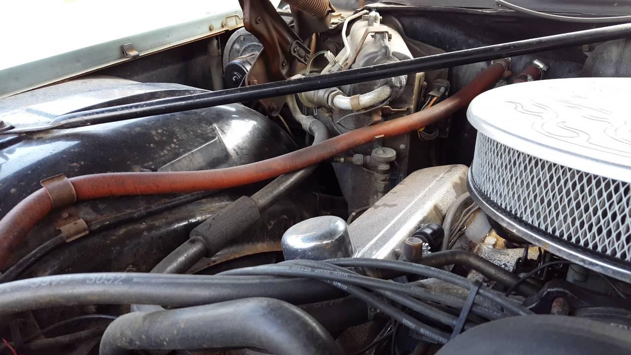 Cadillac 472 Ci 7 7 Litre V8 Engine Sound  U0026 39 73 Coupe Pt2