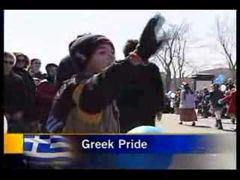 Greek Independance Day Parade - Montreal - March 2...