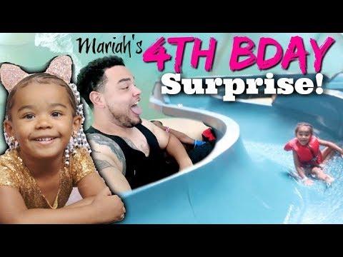 Mimi's BIG 4th Birthday SURPRISE!! | Great Wolf Lodge (Part 1 of 2) #MiMiTober