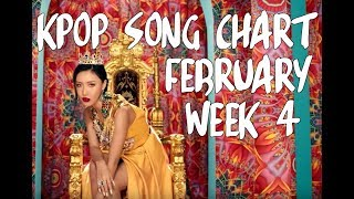 KPOP DONG CHART 2019 | FEBRUARY WEEK 4