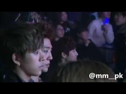 [HD Fancam] 130131 EXO-K + BAP reaction during 2NE1