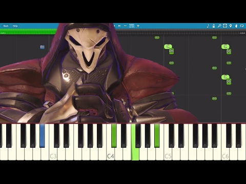 NerdOut! - Overwatch Song - The Reaper - Piano Tutorial