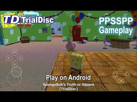 SpongeBob's Truth or Square (Game PPSSPP / PSP / Android)