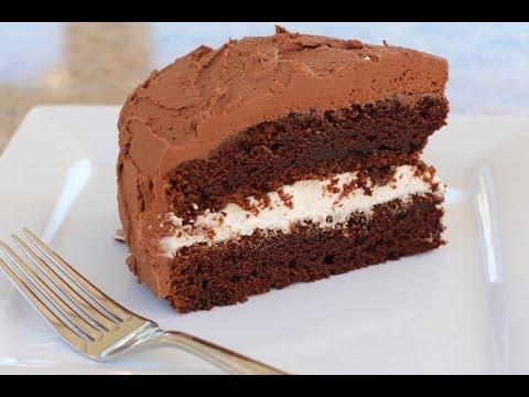 Sour Cream CHOCOLATE CAKE By Rockin Robin