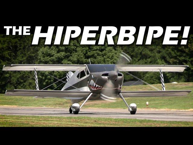 The HiperBipe Fully Aerobatic Biplane! An Amazing AIRCRAFT!