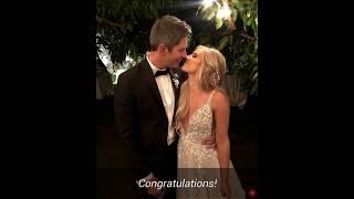 THE BACHELOR:  Arie Luyendyk Jr. Marries Lauren Burnham In Hawaii Wedding