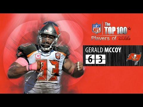 #63: Gerald McCoy (DT, Buccaneers) | Top 100 NFL Players of 2016