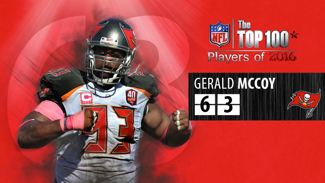 63 Gerald McCoy DT Buccaneers