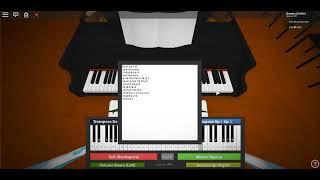 Roblox Piano Sheet-Sing Me To Sleep