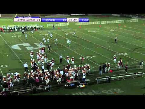 Reynolds vs. Central Catholic Football 10-2-2015