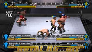 WWE: Smackdown vs Raw (PS2) walkthrough - Royal Rumble