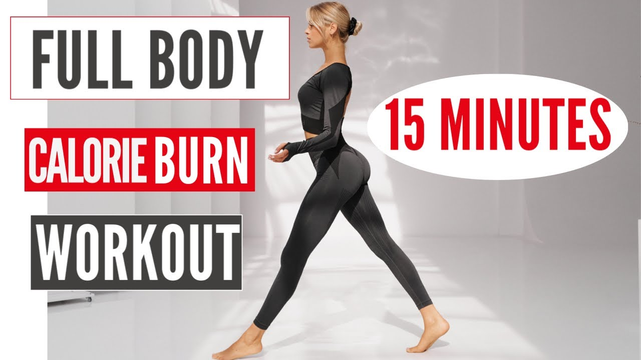 15 MIN. CALORIE BURN || no jumping // neighbor friendly || high intensity workout | Mary Braun