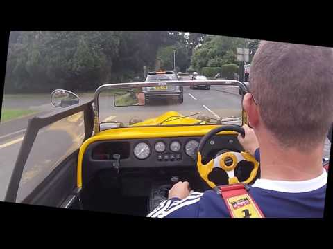 Tiger Kit Car - Drive From Droitwich to Shelsley Walsh