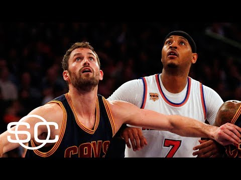 Kevin Love For Carmelo Anthony Is A 'Clean Trade' | SportsCenter | ESPN