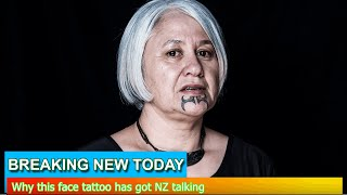 Breaking News - Why this face tattoo has got NZ talking