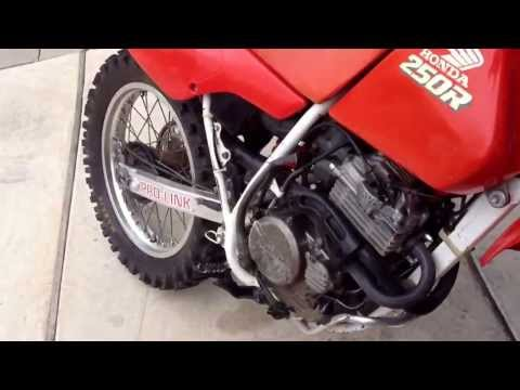 1989 Honda XR250R walk around
