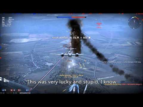 War Thunder : My first great jet match