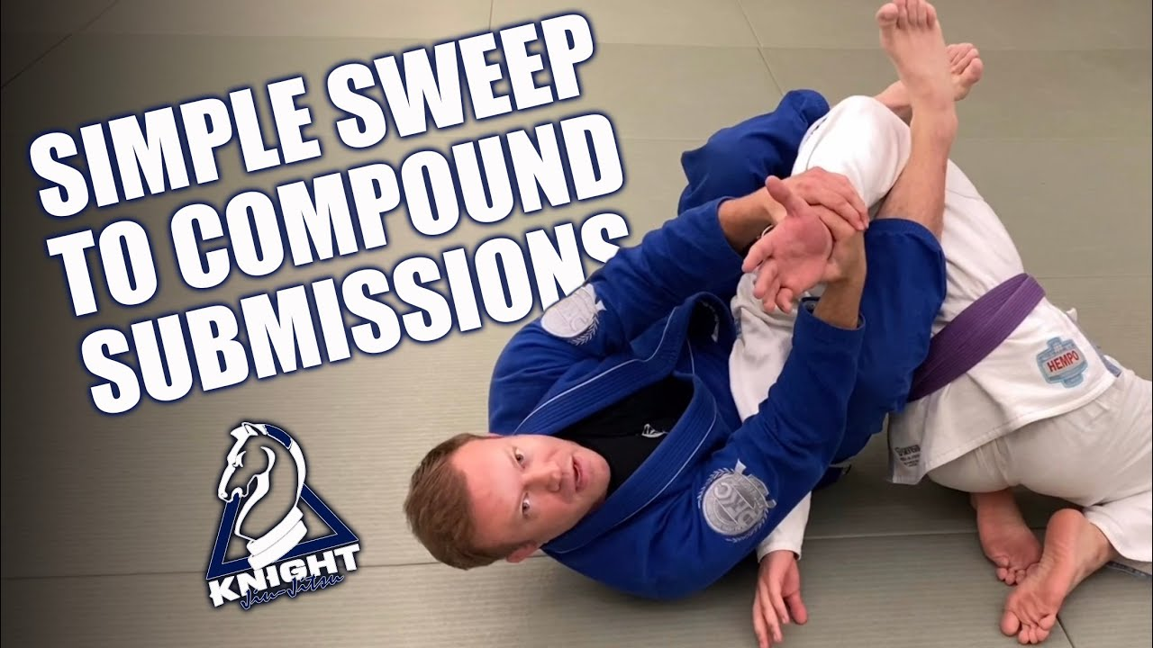 Simple Sweep to Compound Submissions | Jiu-Jitsu Techniques