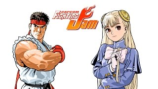 Capcom Fighting Jam - Ryu and Ingrid playthrough