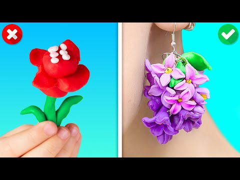 41 COOL POLYMER CLAY DIYs TO DECOR ALMOST ANYTHING AROUND YOU