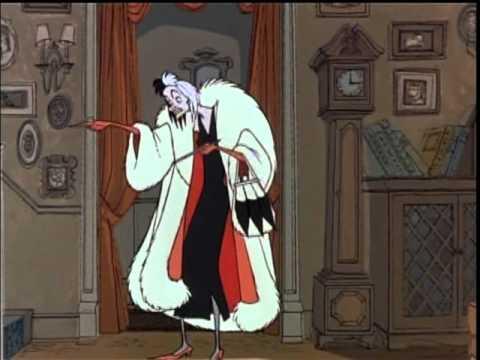 Cruella De Vil from 101 Dalmations  SPANISH version