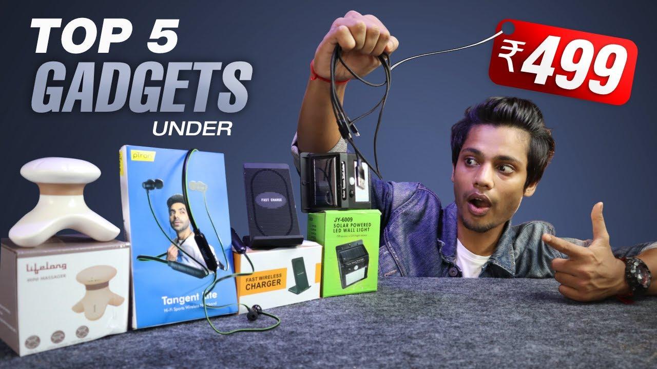 Top 5 Gadgets Under 500 Rupees  Best Amazon Gadgets Under 500 Rupees  Unique Gadgets in 2021#Gadgets