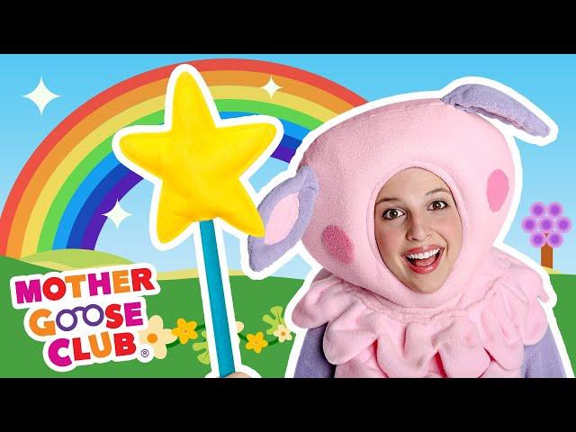 Rainbow, Rainbow with Baa Baa | Mother Goose Club Nursery Rhymes