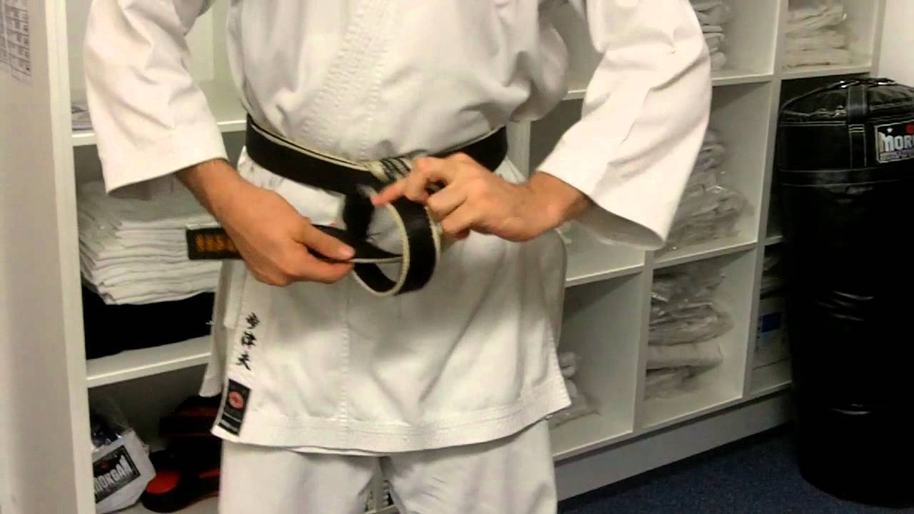 How To Tie Your Karate Belt  A Step By Step Guide