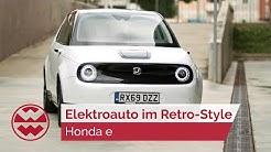 Stadtauto Honda e im Retro-Look mit besonderen Features - just drive | Welt der Wunder