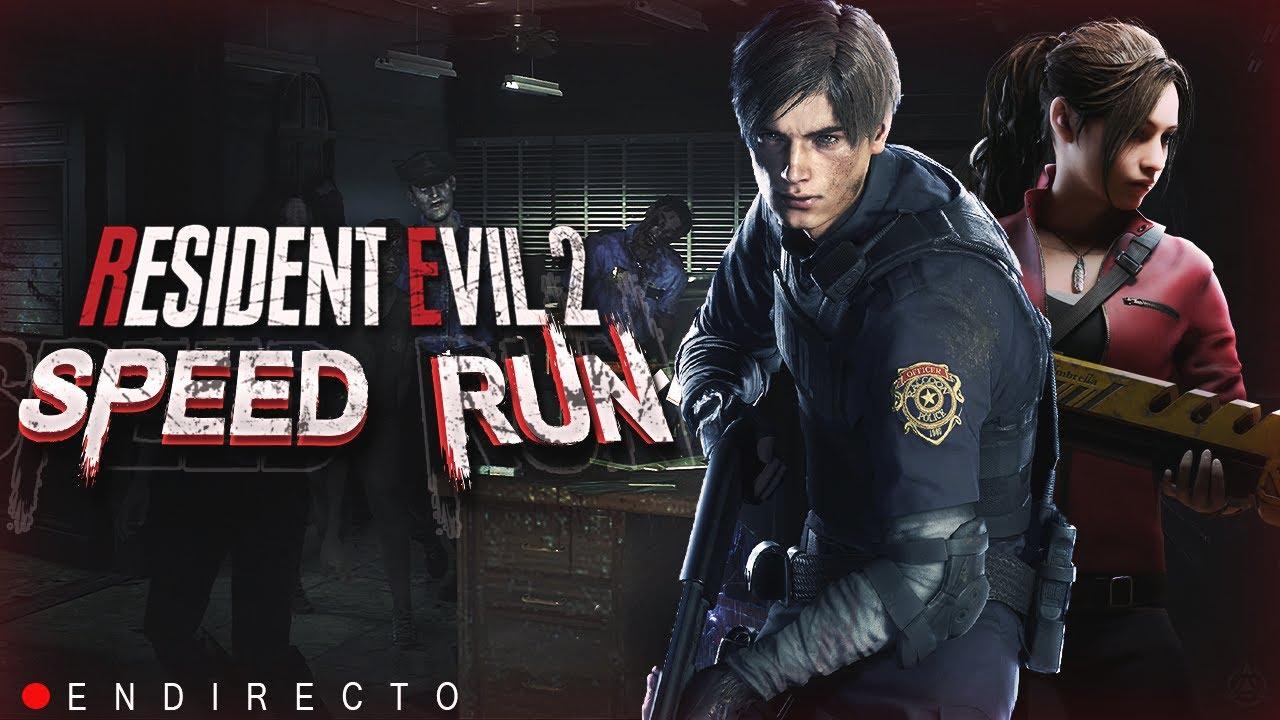 Resident Evil 2 Remake - Leon A Speedrun - PS4