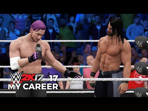 WWE 2K17 My Career Mode Ep 17 | CRY BABY ROLLINS