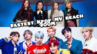 Fastest Kpop Music Video reach 900MILLION | blackbangtan forever