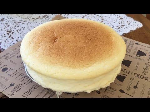 How to Make Japanese Light Cheesecake - SUCCESS!