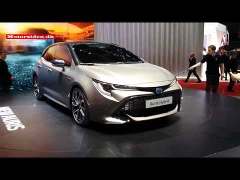 Toyota Spring news at the 2018 Geneva Motor Show walkabout