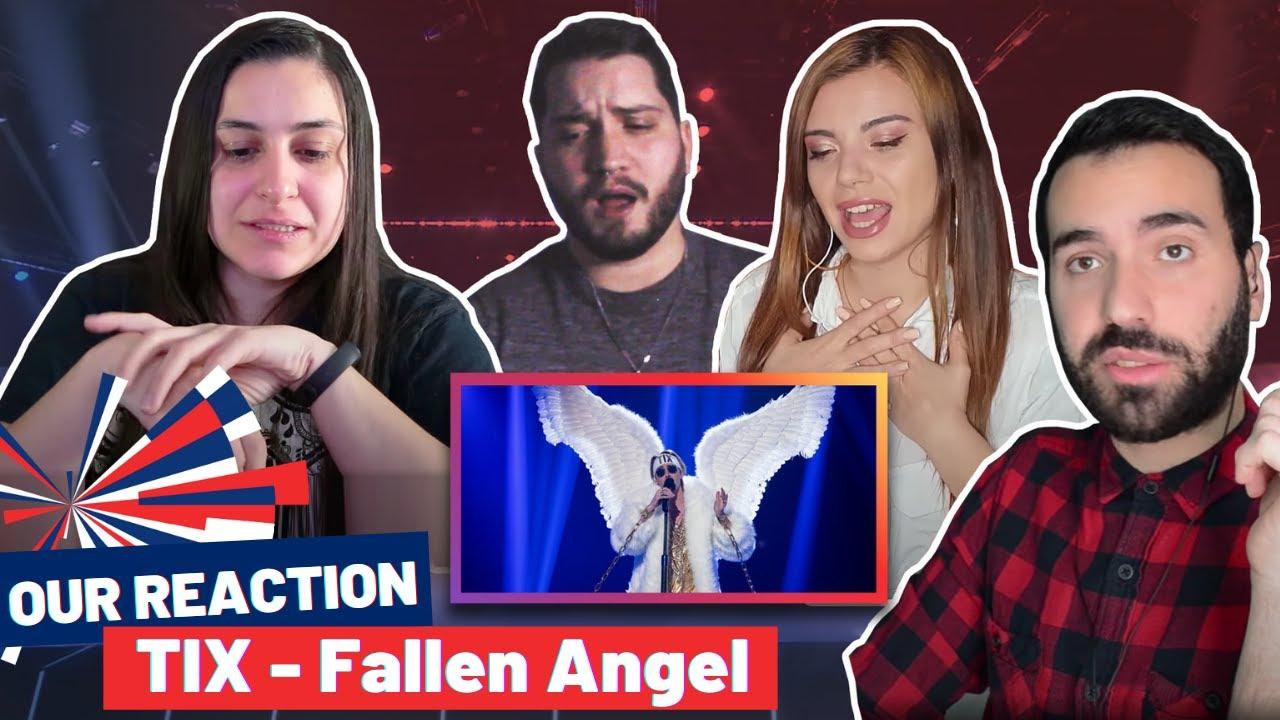 """REACTION: NORWAY 2021 (TIX - Fallen Angel """"Ut Av Mørket"""")"""