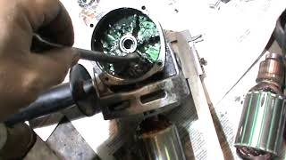 Ремонт УШМ 230/2100М. Замена ротора.