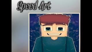 Speed Art Minecraft | Dibujo en Android